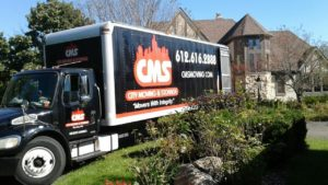 Our CMS trucks can handle any type of local Minneapolis relocation.