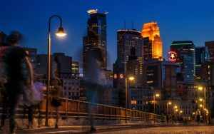 Minnesota is a fast paced, urban and sleepless place.