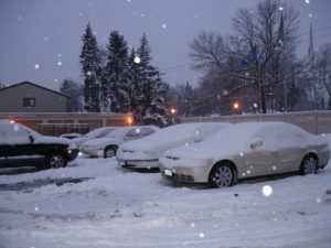 Winters in Minnesota can be heavy. So prepare yourself to desnow your car each day!