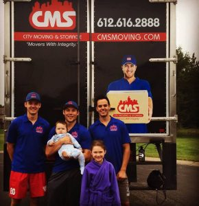Smiled movers- a common thing when hiring long distance movers Minneapolis from City Moving and Storage