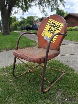 Arrange a garage sale
