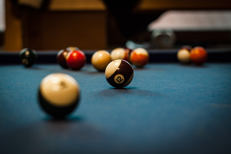 A pool table which can be packed and transported by movers Bloomington.