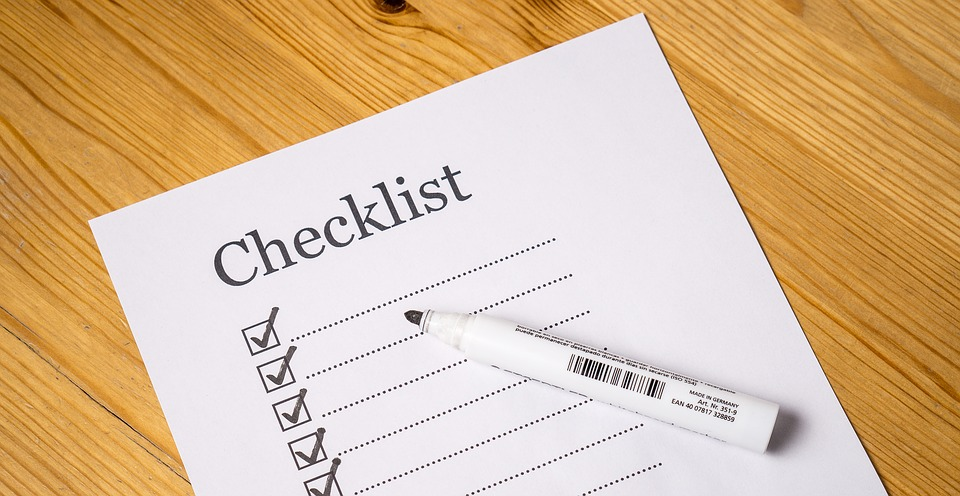 A checklist for all the things you need to vet your movers for.