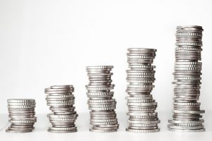 Stack of coins - get your movers Savage to give you a good quote.