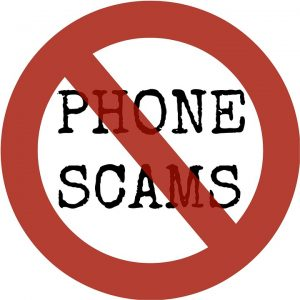 Phone scams are common - so they are on the top of our red flags for moving scams.