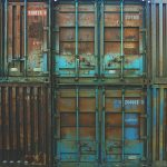Rusty storage units