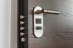 Image of a door lock