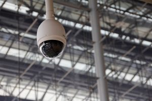 A video security camera